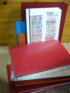 The Netherlands and Indonesia 1925/2000 – Batch in album, stock books and folders