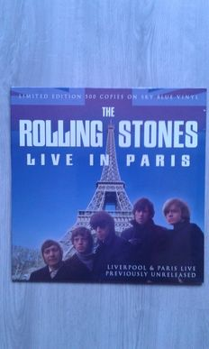 Lots of 4 Albums, The Rolling Stones  – Live In Paris  ,The Beatles  – Live In Paris '65, Jeff Beck  – Live In Tokyo 1999 2x Vinyl, Neil Young & Friends  – Kezar Stadium, San Francisco, 23.3.75