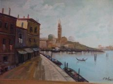 Unknown artist - Venice Grand Canal
