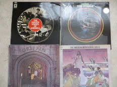 Hippie- & Rock-Psych - Various USA Artists; lot of four (4) LP's from the sixties and early seventies