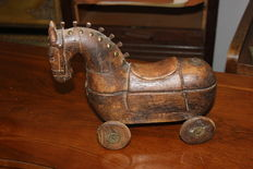 Wooden horse antique - spice horse