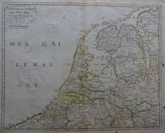 Netherlands; N. Sanson - Provinces Unies des Pays Bas - between 1665 and 1679