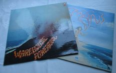 A Lot Of 2 Lp's  The Dutch Group Warehouse With The Lp Powerhouse A Progesive Rock Band And The English Group Man With The Lp Man Also Progesive Rock