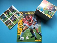 Panini - Voetbal 93 - NL competitie - Compleet album + Lege box + Panini reclame sheet.