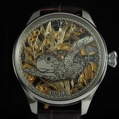 Havila - Skeleton Mariage men's wristwatch - 1920