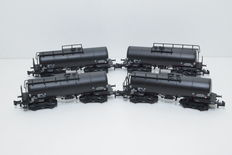 Lilliput N - L 265968 - 4 tank carriages of the NAM
