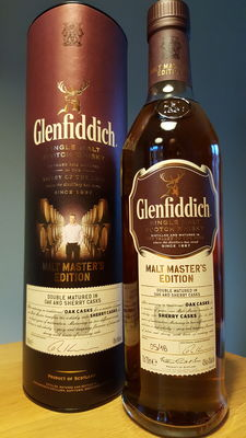 Glenfiddich malt master's edition 2016 - first release - single malt Scotch whisky