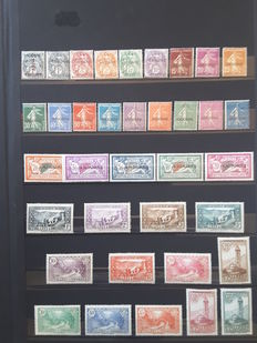 French Andorra 1931/2005 - Almost complete collection.