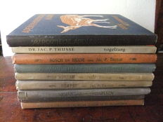 Jac P Thijsse and others - eight Verkade Picture Albums and one other album - 1908/1965