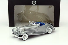 Maisto - Scale 1/18 - Mercedes-Benz 500 K Type Special Roadster 1936 Metallic Grey