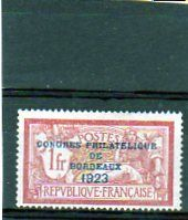France 1923/1952 - Lot of stamps including Congress of Bordeaux and Exhibition of Paris