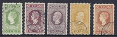 The Netherlands 1913 – Independence – NVPH 97 through 101