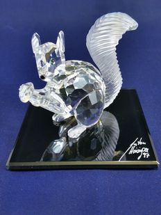 Swarovski - 10th anniversary edition the Squirrel