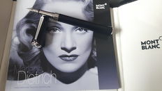 """Montblanc """"Marlene Dietrich"""" special edition fountain pen - Complete set - New and unused"""