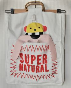 "Walter Van Beirendonck - Decorative linen bag ""SUPERNATURAL"""