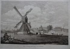 Texel, Den Burg; Roelofswaert / Loveringh en Allart  -2 copper engraving - 18th century