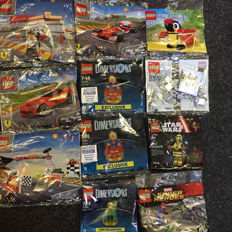Dimensions / Super Heroes / Shell / Star Wars / Creator - 11 poly bags incl. 71342 + 71340 - Green Arrow + Supergirl