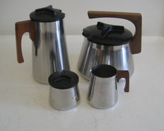 Axel Enthoven for Demeyere Werkhuizen NV - vintage design coffee set
