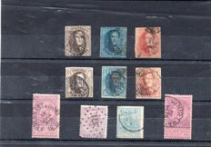 Belgium 1856/1970 - Selection of 350 new stamps with Red Cross notebooks 1963.