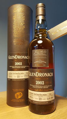 Glendronach 2003 single cask - single malt Scotch whisky