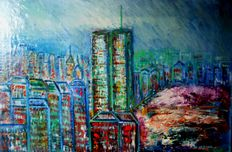 Giuseppe Zumbolo - Two  artworks (New York period)