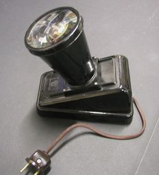 ORLANDOSCOP slide viewer made of bakelite, year of manufacture approx. 50's