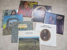 Pop, Rock Singers & Singer / Songwriters USA, GB, Various Artists lot of eight (8) original LP's from the sixties and early seventies Inluding rare Releases.