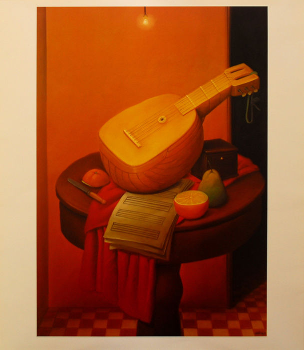 3 x Fernando Botero - Still life with mandolin & Mother superior & The doll
