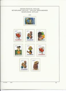Netherlands Antilles 2000/2004 – Five complete year packs