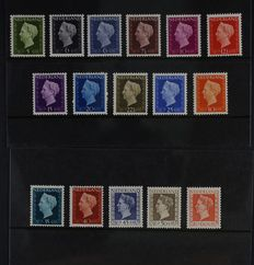 The Netherlands - Selection of complete series from NVPH 374/378