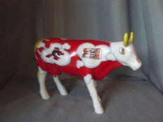 Cow with LELY's innovation in agriculture (Large) advertising