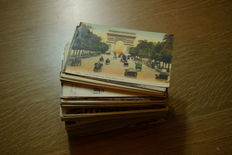 France, Paris - first half of 900 - 250 small-format postcards
