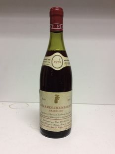 1970 Charmes-Chambertin Grand Cru , Piat Pere & Fils, Burgundy, France, 1 bottle of 0.73l