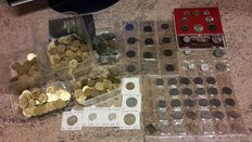 Lot of 594 Coins – Italy, Vatican, and San Marino