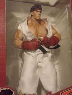 Figure Street Fighter Ryu Sota Toys Capcom - 2005 - Limited Edition nr 1497/7500