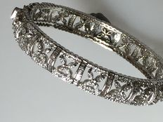 19.11ct Diamond Bangle