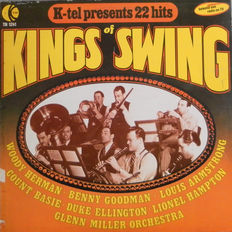 Kings of Swing and Jazz 20 Lp's & 2 Double Albums : Nelson Williams - Carlos Santana - Jonah Jones - Milt Buckner - Earl Hines - Gene Krupa - Fats Waller   and many more.