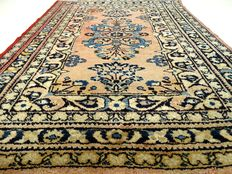 """Semi-antique Sarough Hamadan - 147 x 105 cm - """"Finely knotted Persian carpet in good condition."""" - Please, note: no reserve price, bidding starts at €1."""