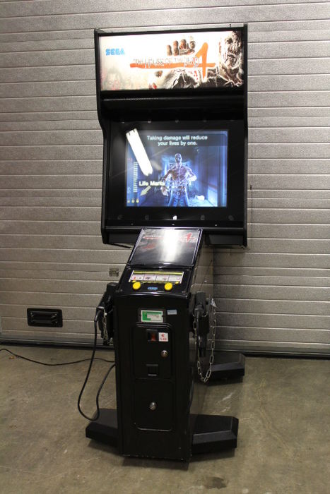 Sega The House Of The Dead 4 Arcade Machine Catawiki