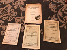 Collection of old war maps 1.Wk