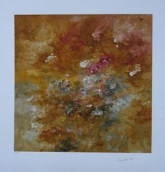 Armando - Abstraction in red and Brown