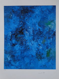 Armando - abstraction in Azure Blue