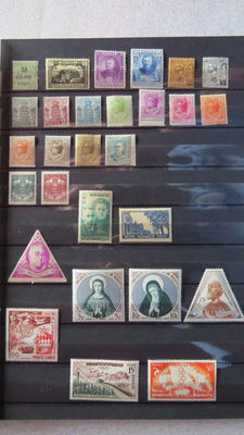 Monaco 1921/2000 – selection of stamps