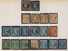 France 1860/1961 – Stamp collection