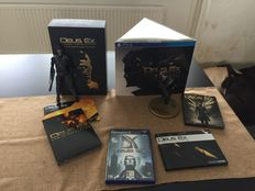 Lot of 3 Deus Ex games for PS2/PS3/PS4 - including 2 Limited Editions