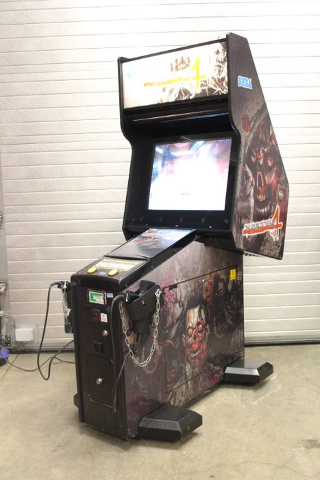 House Of Dead 4 Arcade Machine For Sale