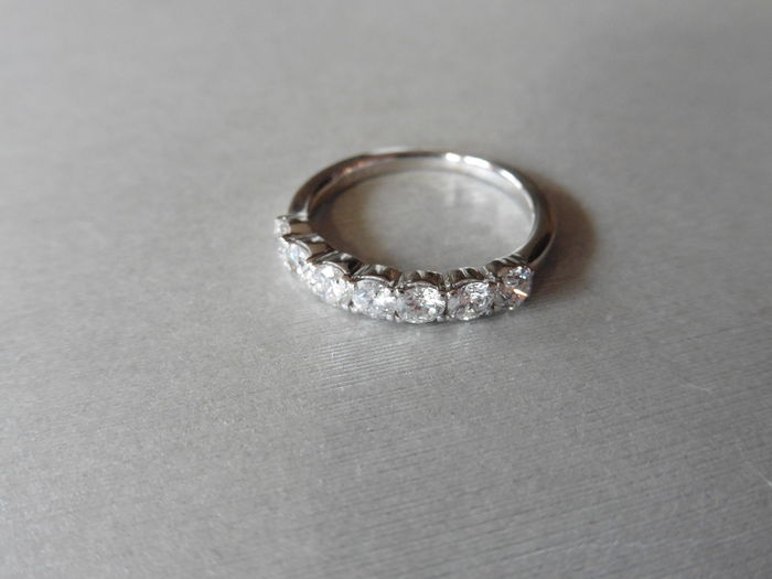 1.10ct Diamond Eternity style Ring - I, VS2