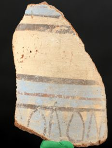 Big Amarna terracotta sherd - ca. 11,5 x 8 cm c. 4,53 x 3,15 inches
