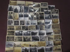 Lot with 68 original pictures from the Third Reich