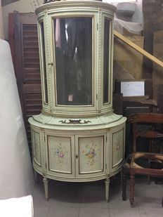 Louis XVI style display cabinet - 20th C